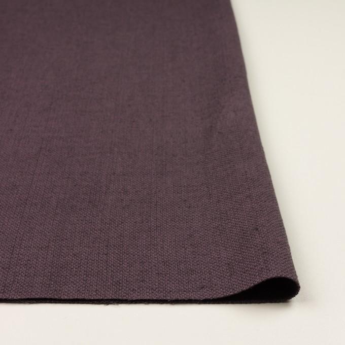 コットン&リネン×無地(グレープ)×かわり織 イメージ3