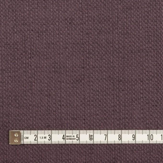 コットン&リネン×無地(グレープ)×かわり織 イメージ4
