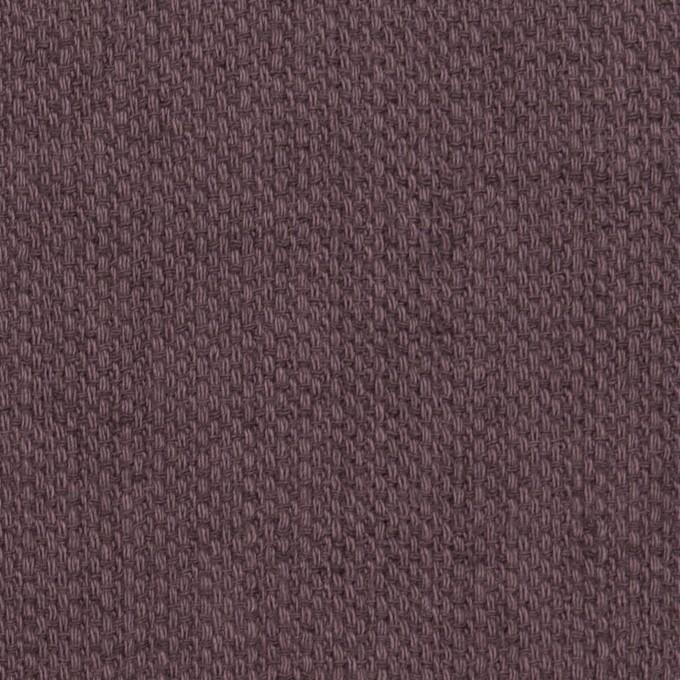 コットン&リネン×無地(グレープ)×かわり織 イメージ1