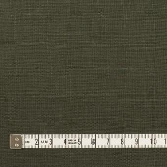リネン×無地(オリーブグリーン)×薄キャンバス サムネイル4