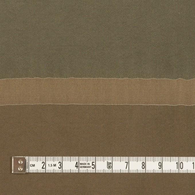 レーヨン&シルク×ボーダー(カーキ)×ローン_パネル イメージ4