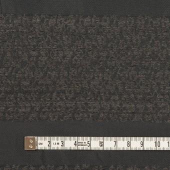 ポリエステル&アクリル×ボーダー(チャコールグレー)×形状記憶サージジャガード サムネイル4