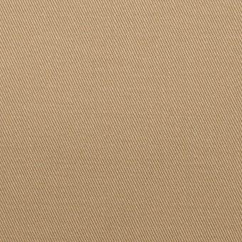 コットン×無地(カーキベージュ)×チノクロス_全2色