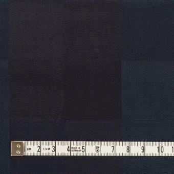 コットン×チェック(バルビゾンブルー&チャコール)×ジャガード サムネイル4