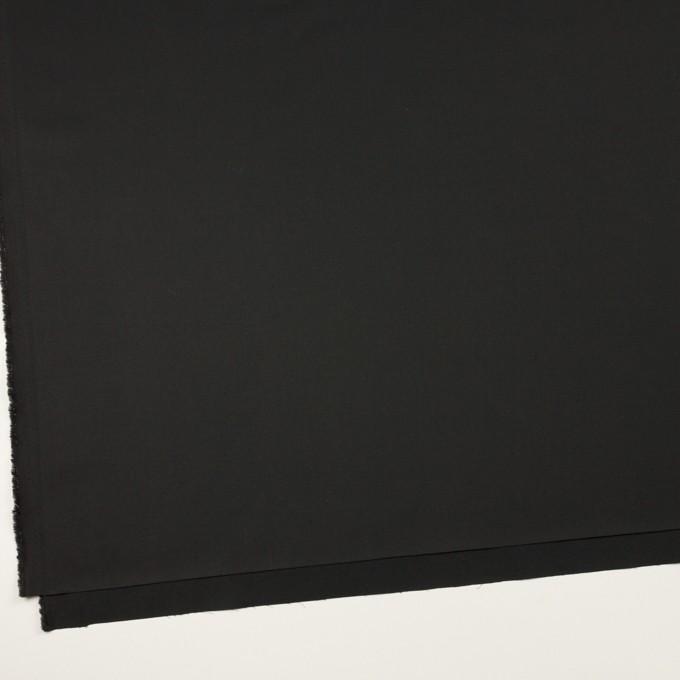 コットン×無地(ブラック)×サテン_全2色 イメージ2