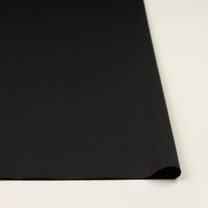 コットン×無地(ブラック)×サテン_全2色 イメージ3