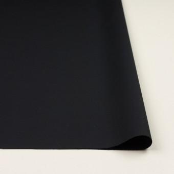 コットン&ポリウレタン×無地(ダークネイビー)×サテンストレッチ サムネイル3