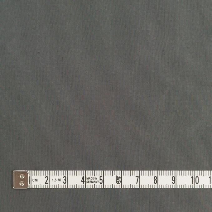 ポリエステル×無地(ガンメタリック)×形状記憶シャンブレータフタ イメージ4