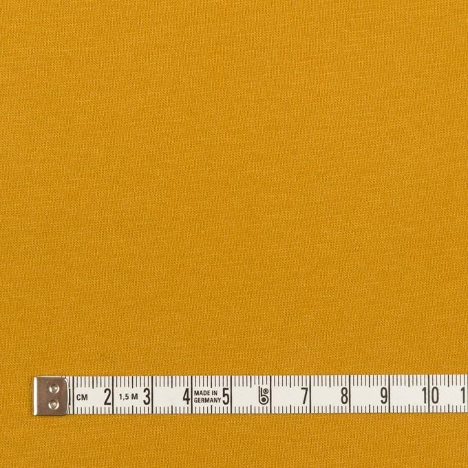 コットン&シルク×無地(マスタード)×天竺ニット_全5色 イメージ4