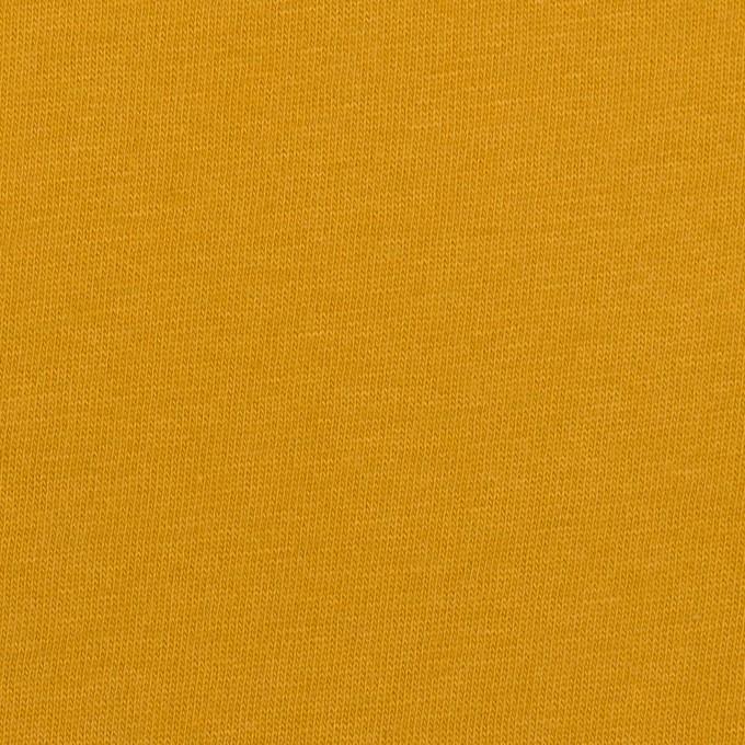 コットン&シルク×無地(マスタード)×天竺ニット_全5色 イメージ1