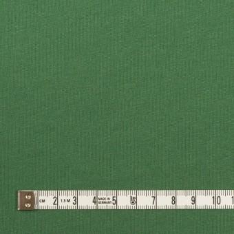 コットン&シルク×無地(フォレストグリーン)×天竺ニット_全5色 サムネイル4