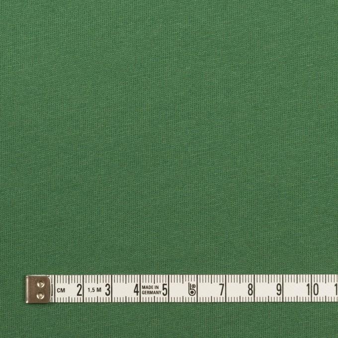 コットン&シルク×無地(フォレストグリーン)×天竺ニット_全5色 イメージ4