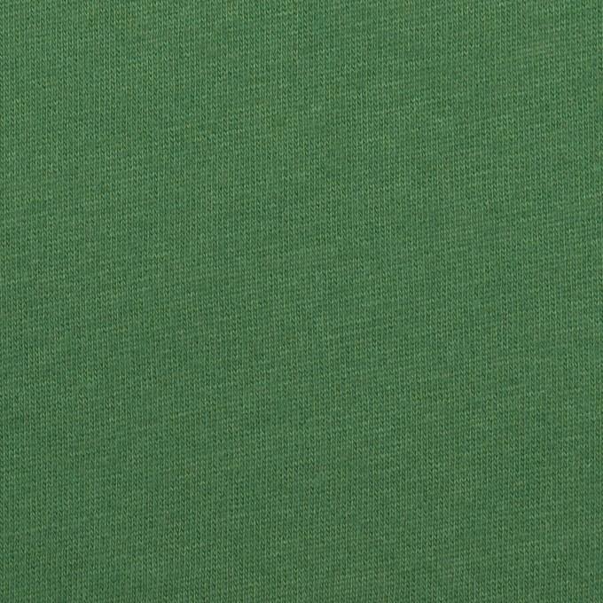 コットン&シルク×無地(フォレストグリーン)×天竺ニット_全5色 イメージ1