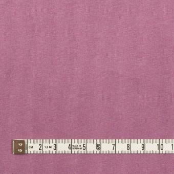 コットン&シルク×無地(モーブ)×天竺ニット_全5色 サムネイル4