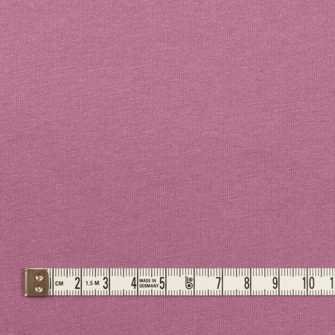 コットン&シルク×無地(モーブ)×天竺ニット_全5色 イメージ4