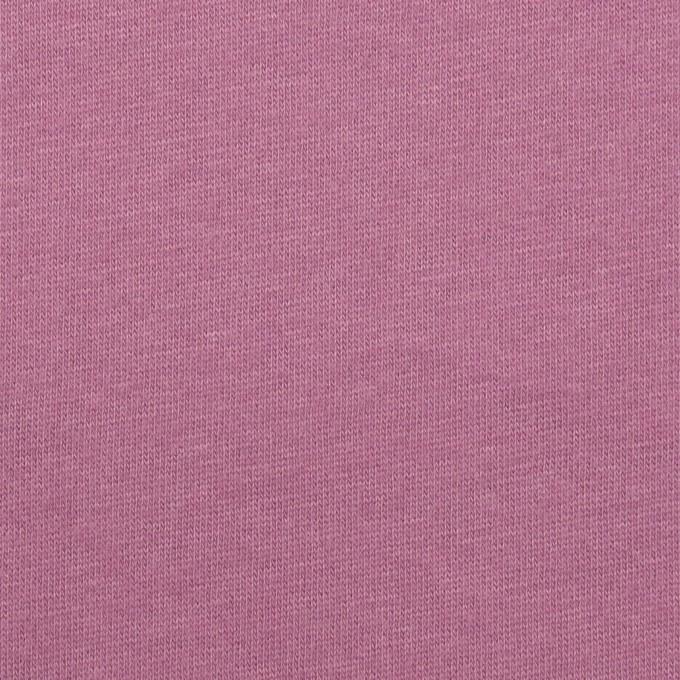 コットン&シルク×無地(モーブ)×天竺ニット_全5色 イメージ1