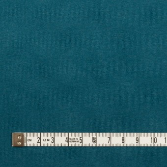 コットン&シルク×無地(アカプルコブルー)×天竺ニット_全5色 サムネイル4