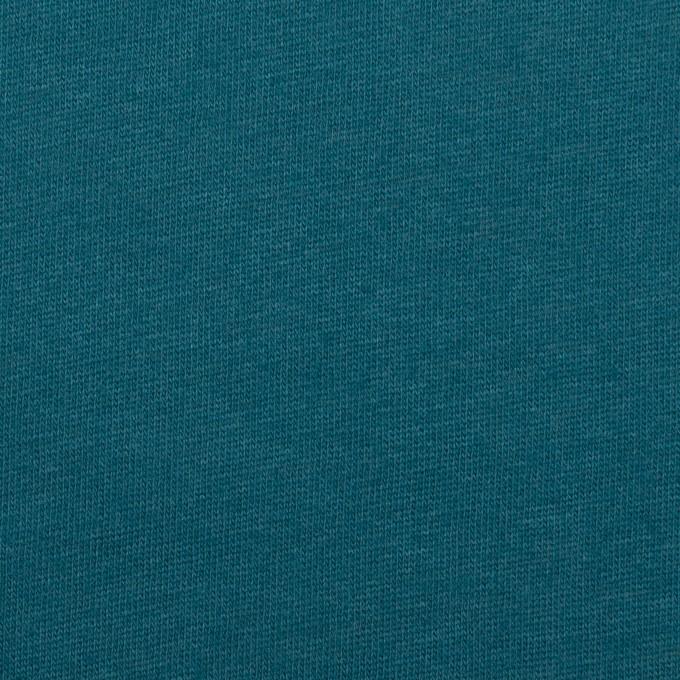 コットン&シルク×無地(アカプルコブルー)×天竺ニット_全5色 イメージ1