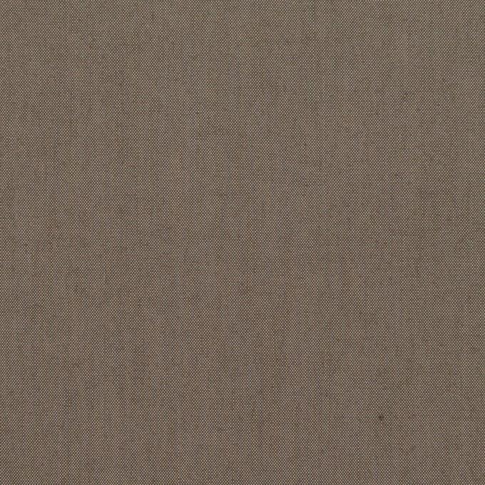 コットン&レーヨン×無地(アッシュブラウン)×シャンブレー イメージ1