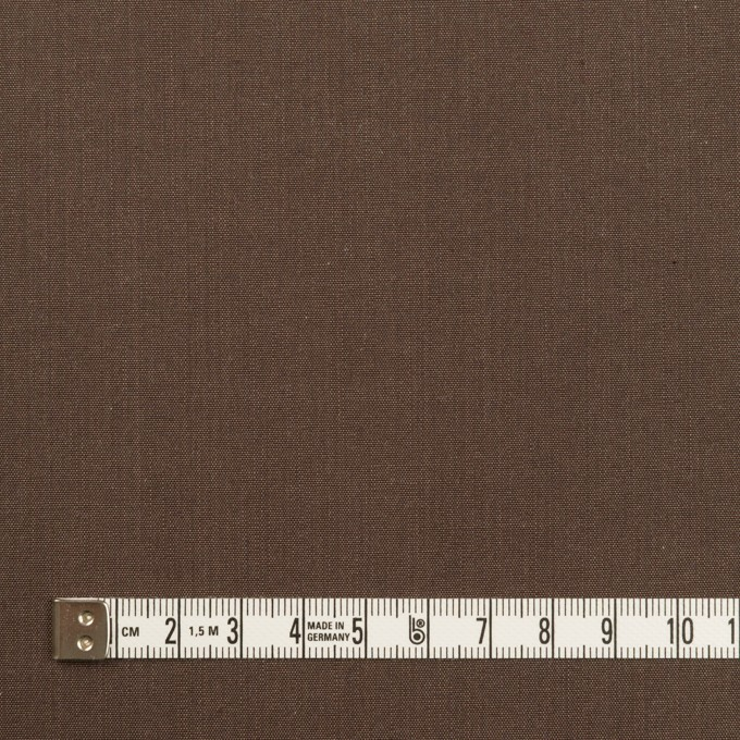 コットン&レーヨン×無地(ブラウン)×シャンブレー イメージ4
