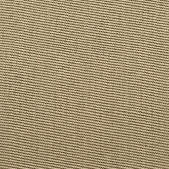 リネン&コットン×無地(カーキベージュ)×サージ_全2色 イメージ1