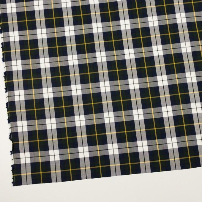 コットン×チェック(ネイビー&モスグリーン)×オックスフォード イメージ2
