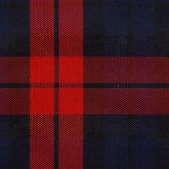 コットン×チェック(ネイビー&レッド)×オックスフォード サムネイル1