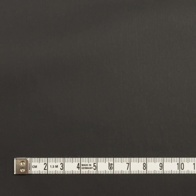 コットン&ポリウレタン×チェック(チャコールグレー)×ローンストレッチ(ボンディング) イメージ6