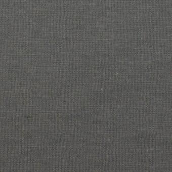 コットン&リネン×無地(スチールグレー)×天竺ニット サムネイル1