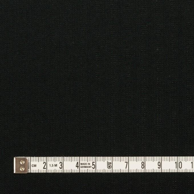 コットン&ポリエステル×ストライプ(シルバー&ブラック)×Wニット イメージ6