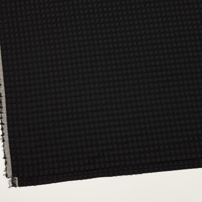 ポリエステル×サークル(ブラック)×ジャガード イメージ2