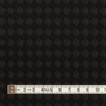 ポリエステル×サークル(ブラック)×ジャガード サムネイル4