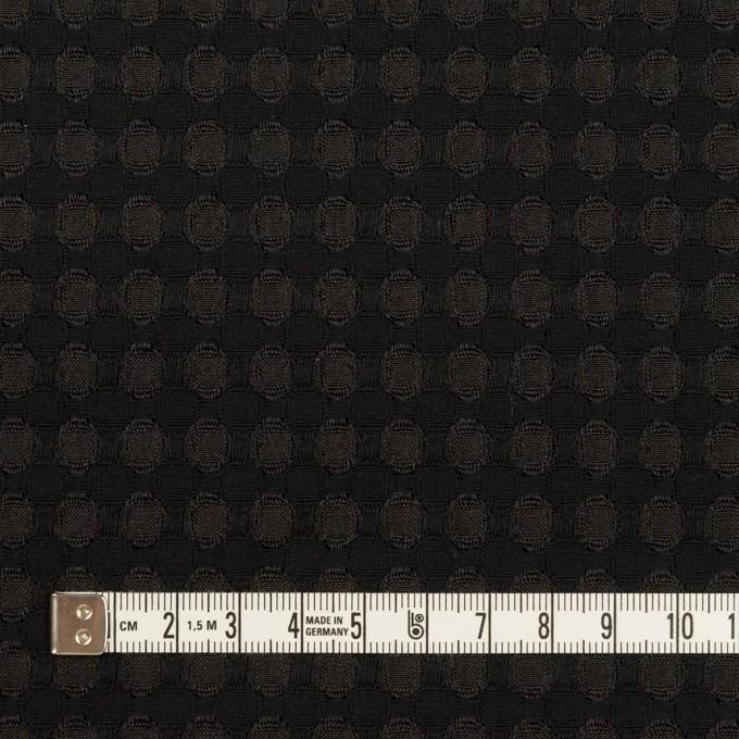 ポリエステル×サークル(ブラック)×ジャガード イメージ4