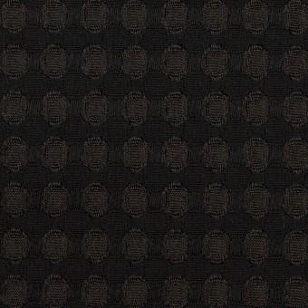 ポリエステル×サークル(ブラック)×ジャガード サムネイル1