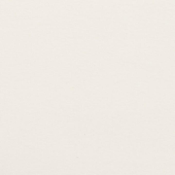 コットン&ポリウレタン×無地(ホワイト)×フランネル・ストレッチ イメージ1