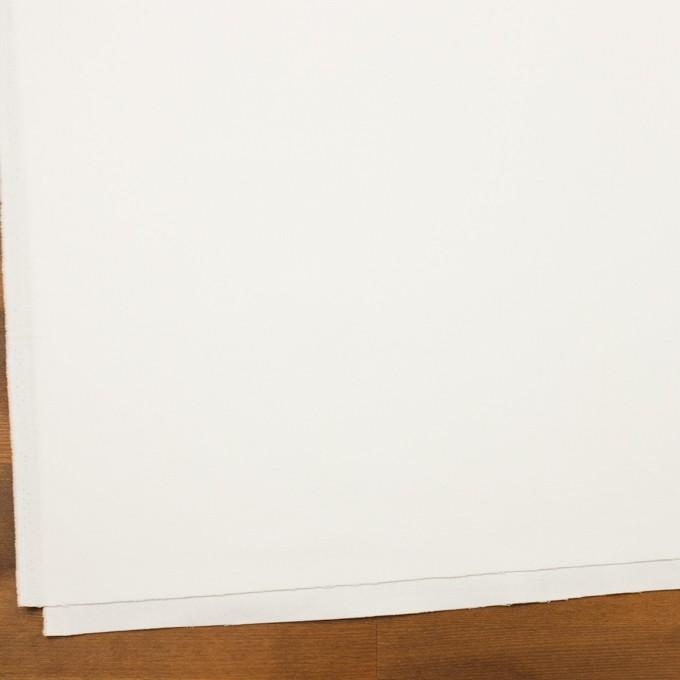 コットン×無地(ホワイト)×フランネル イメージ2