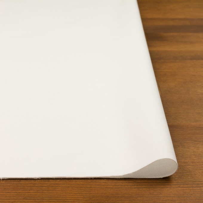 コットン×無地(ホワイト)×フランネル イメージ3