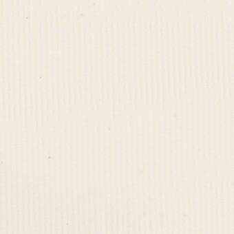 コットン&ポリウレタン×無地(ミルク)×中細コーデュロイ・ストレッチ