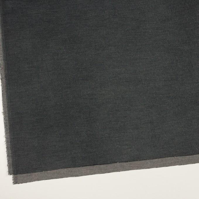コットン&ポリウレタン×無地(チャコールグレー)×細コーデュロイ・ストレッチ イメージ2