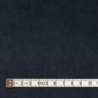 コットン&ポリウレタン×無地(アッシュネイビー)×細コーデュロイ・ストレッチ サムネイル4