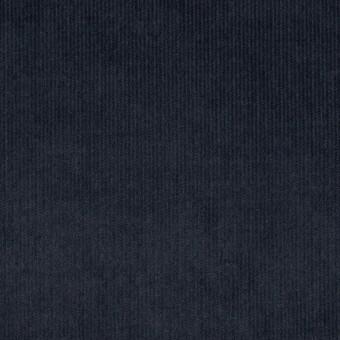 コットン&ポリウレタン×無地(アッシュネイビー)×細コーデュロイ・ストレッチ サムネイル1