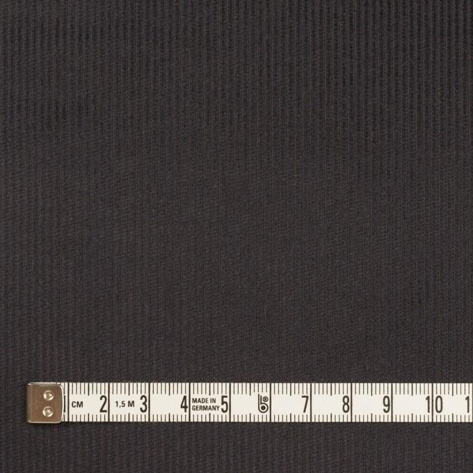 コットン×無地(チャコール)×中細コーデュロイ イメージ4