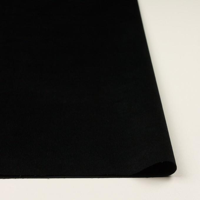 コットン&ポリウレタン×無地(ブラック)×細コーデュロイ・ストレッチ イメージ3