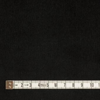 コットン&ポリウレタン×無地(ブラック)×細コーデュロイ・ストレッチ サムネイル4