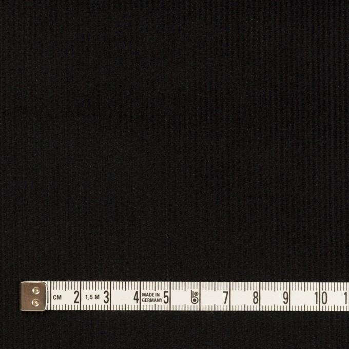 コットン×無地(ブラック)×中細コーデュロイ イメージ4