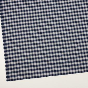 コットン×チェック(ライトグレー&ネイビー)×ビエラ_全4色 サムネイル2