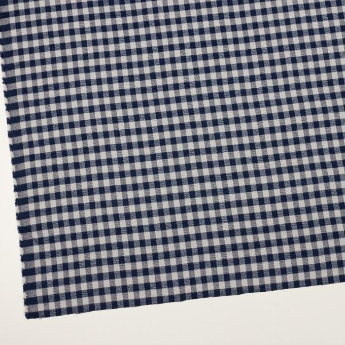 コットン×チェック(ライトグレー&ネイビー)×ビエラ_全4色 イメージ2