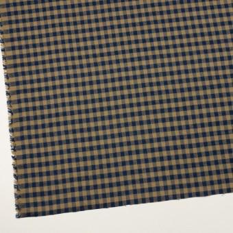 コットン×チェック(カーキ&ネイビー)×ビエラ_全4色 サムネイル2