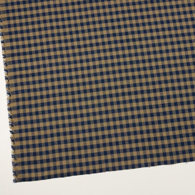コットン×チェック(カーキ&ネイビー)×ビエラ_全4色 イメージ2
