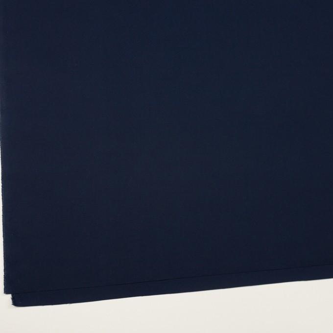 コットン×無地(ネイビー)×ポプリン イメージ2